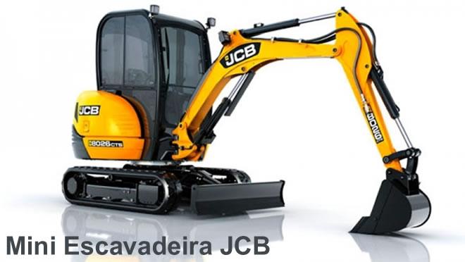 mini escavadeira jcb