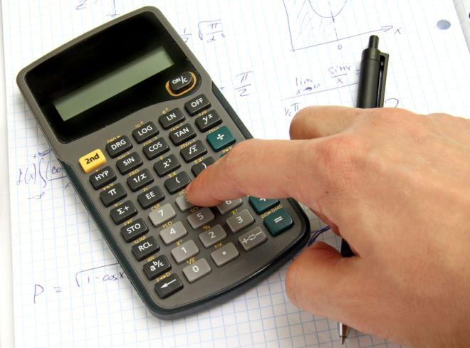 Como calcular porcentagem na calculadora cientifica