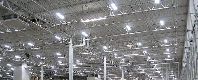 Como aplicar iluminacao industrial