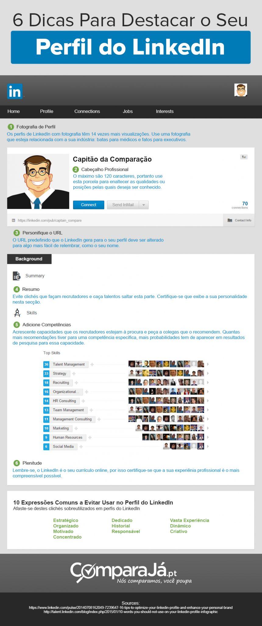 6 dicas para melhorar perfil no linkedin