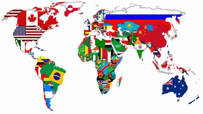 Resultado de imagem para globo países