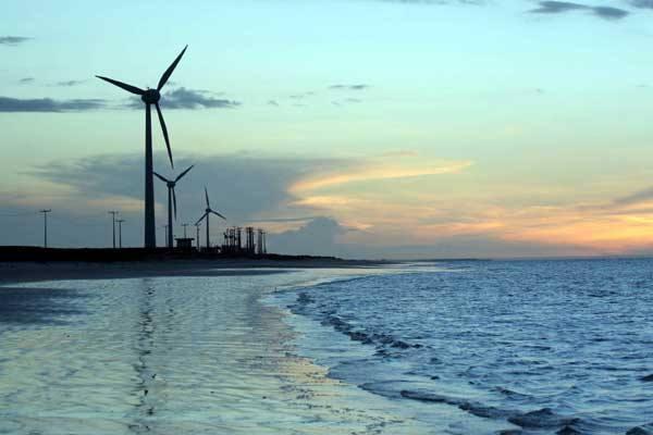 Aumento da Energia Eólica