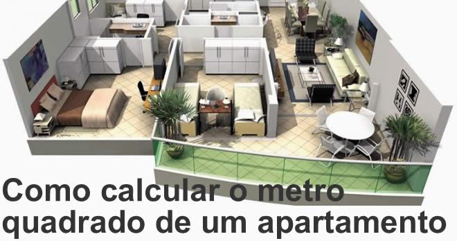 Como Calcular O Metro Quadrado De Um Apartamento